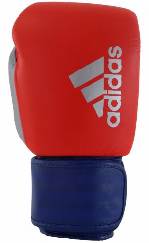 Adidas Hybrid 200 Boxing Gloves - Red/Blue